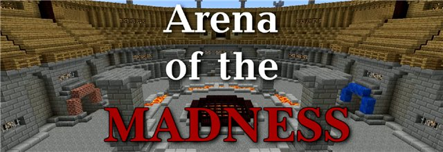 Arena of the madness - карта для миникрафта